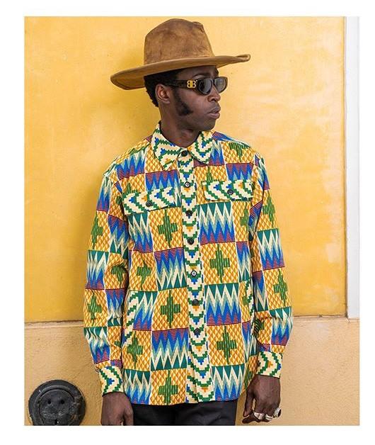 chemise Aliou wax africain oversize